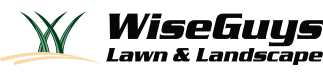 Wise Guys Lawn & Landscape Logo